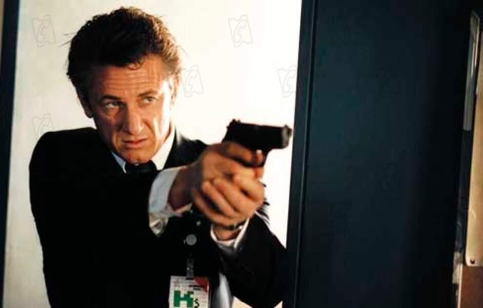 """En 2005, Sean Penn joue dans le thriller """"L'interprète"""""""