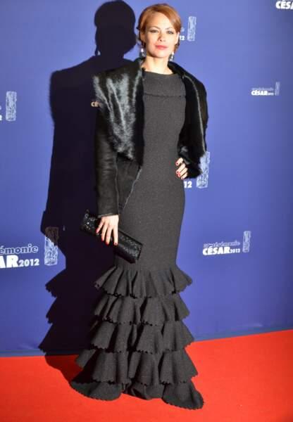 Bérénice Béjo en Azzedine Alaïa aux Oscars en 2012