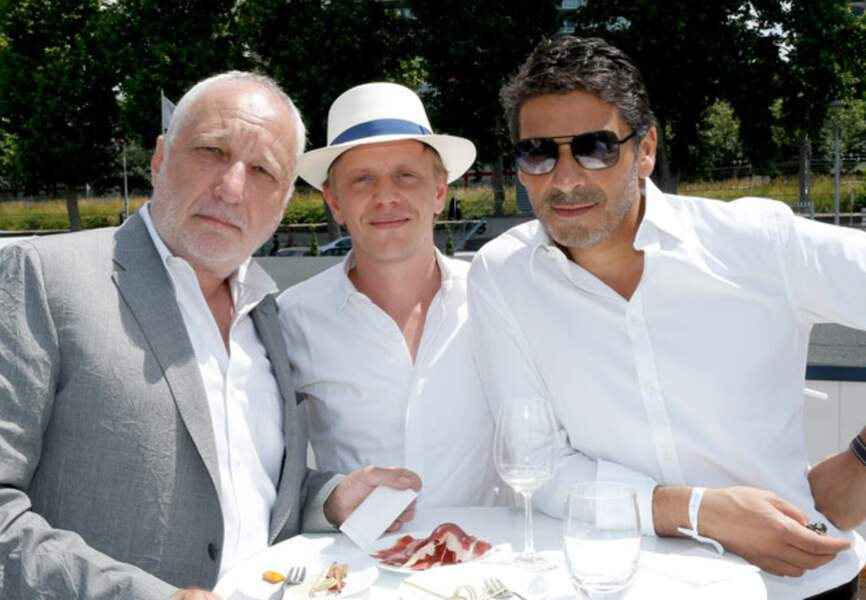 François Berléand, Alex Lutz et Pascal Elbé