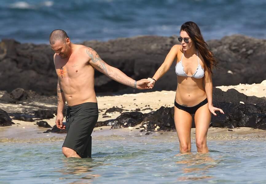 Megan Fox et Brian Austin Green à Hawaï