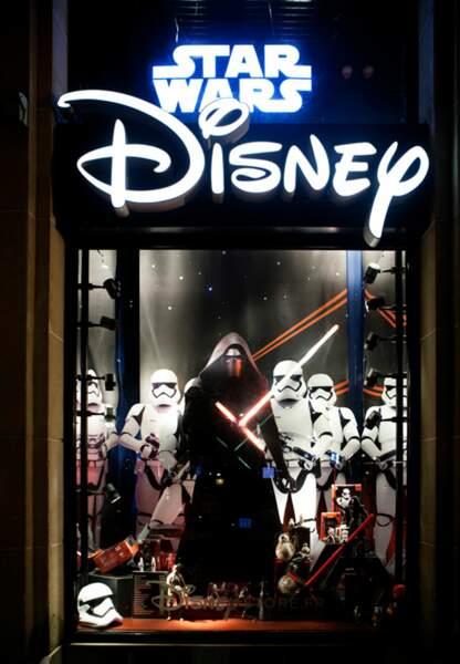 La vitrine du Disney Store