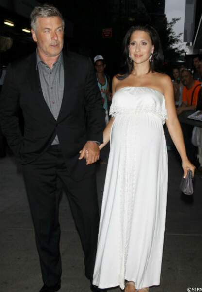 Alec Baldwin et sa femme, Hilaria, enceinte