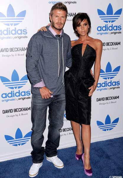 En 2009 pour la promotion de la collection Adidas by David Beckham