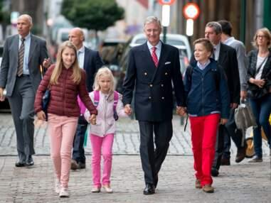 La famille royale belge fait sa rentrée des classes