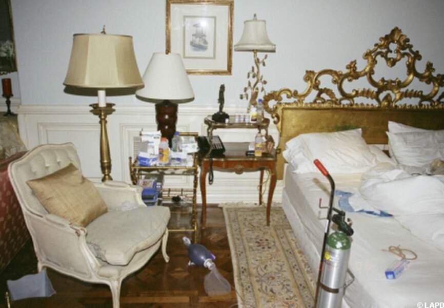 La chambre de Michael Jackson