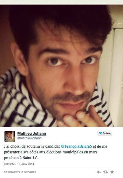 Matthieu Johann, 3e sur une liste UMP à Saint-Malo