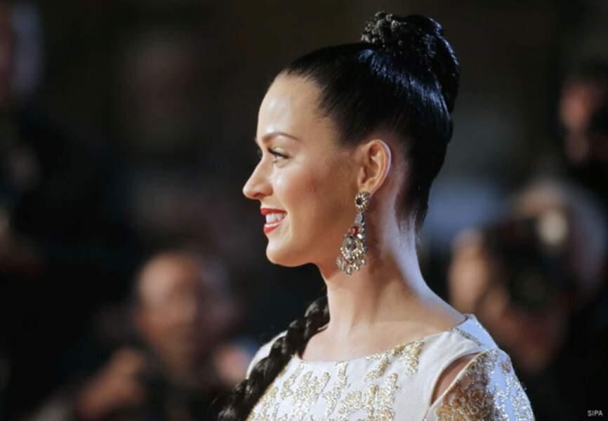 Katy Perry sublime sur le tapis rouge