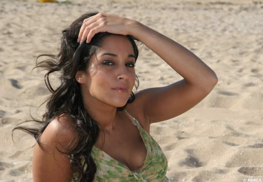 Leila Bekhti se révèle lors du festival de Cabourg en 2006