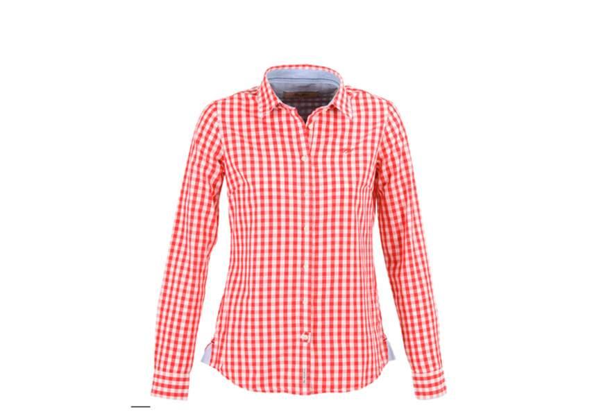 Pepe Jeans, Chemise vichy col classique, soldée 34€
