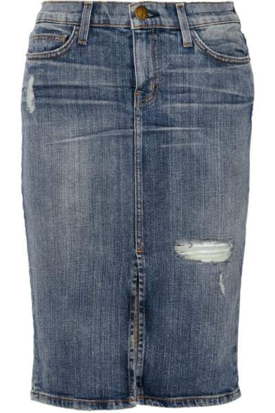 Jupe en jean, Current/Elliott - 285€