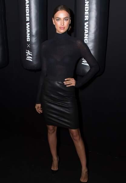 Irina Shayk toujours aussi sexy