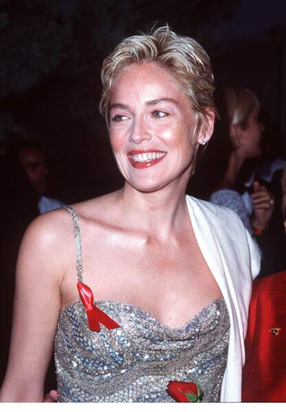Sharon Stone à Cannes en 1998