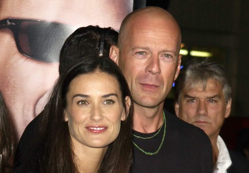 On retrouve les grands yeux de Demi Moore et la mâchoire carrée de Bruce Willis dans le visage de Rumer