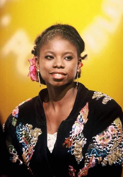 Surya Bonaly participe à l'émission Tout est possible en 1995