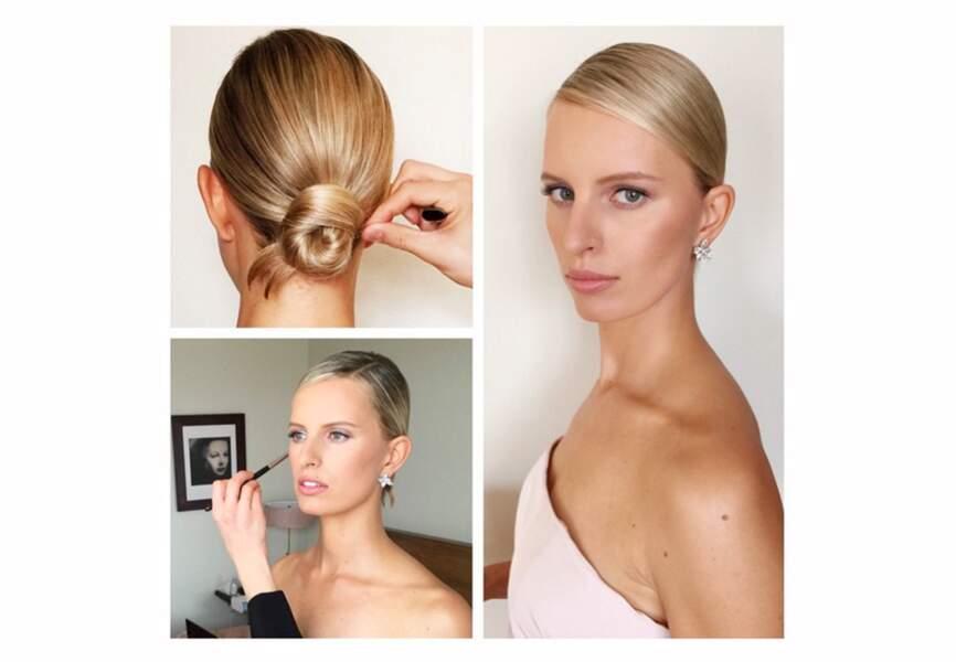 La mise en beauté de Karolina Kurkova