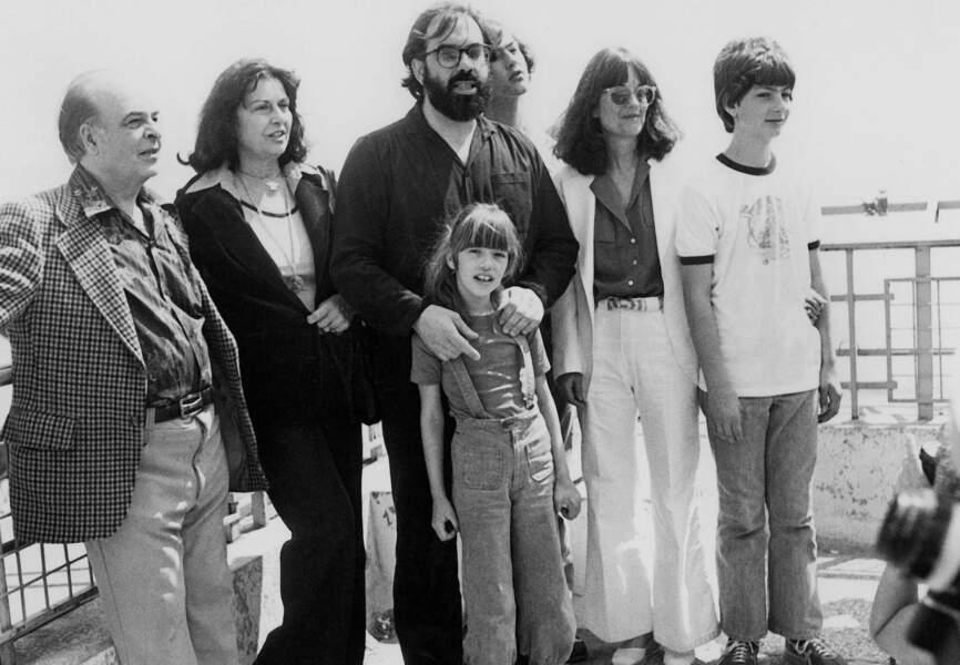 Flashback : La famille Coppola au Festival de Cannes en 1979