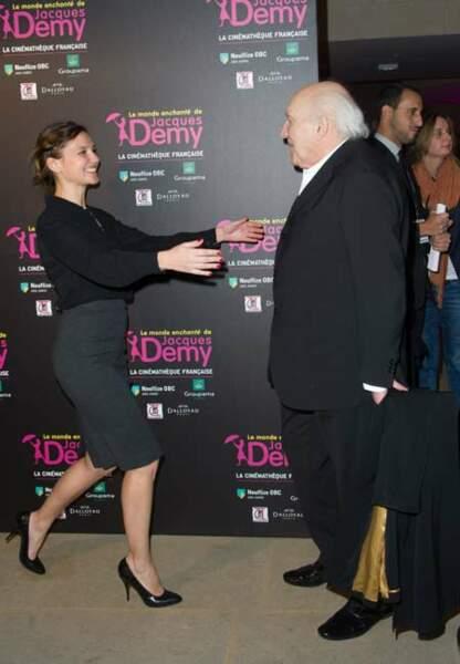 Virginie Ledoyen et Michel Piccoli
