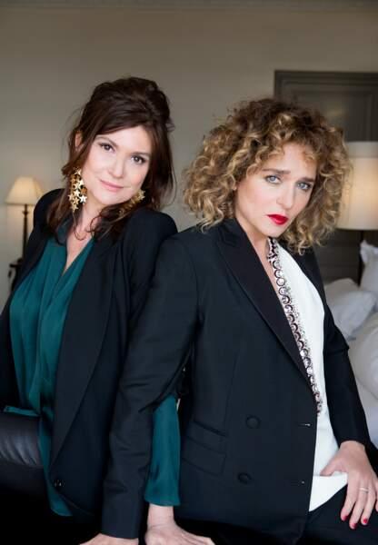 La productrice Anne-Dominique Toussaint et son amie Valeria Golino, déjà deux films ensemble