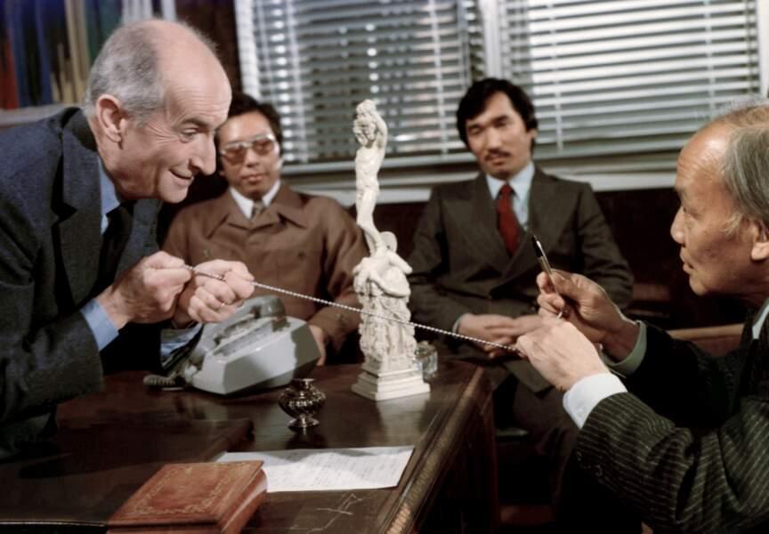 La Zizanie de Claude Zidi (1978). Avec Takashi Kawahara et Ham-Chau Luong