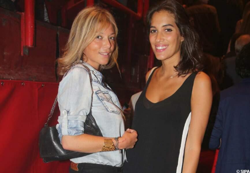 Laurie Cholewa et une amie