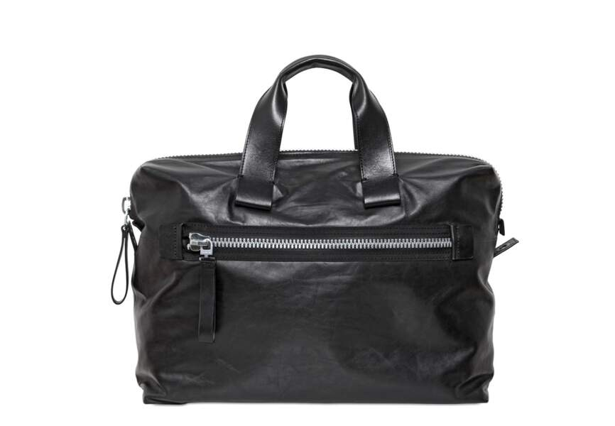 Lanvin, Petit sac bowling en cuir nappa, 865€