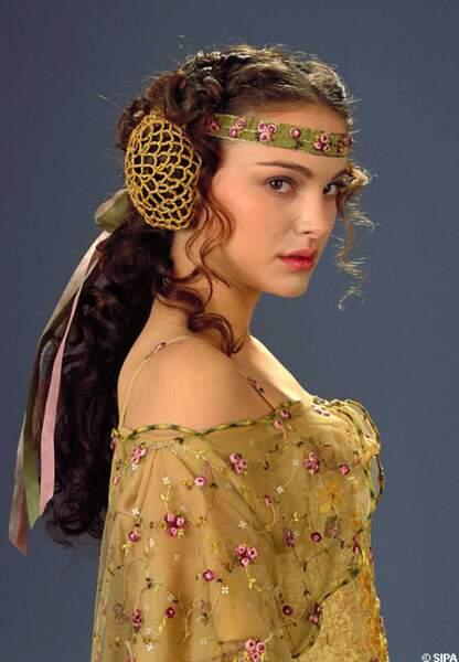 Natalie Portman dans Star Wars, l'attaque des clônes
