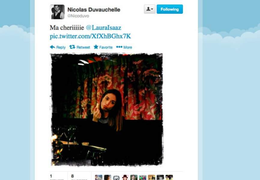 Nicolas Duvauchelle vous présente son amoureuse