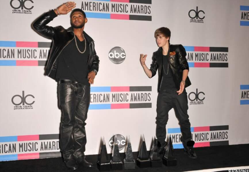 Usher, le mentor