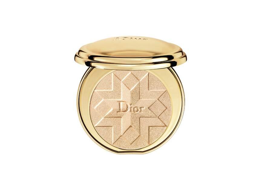 DIORIFIC GOLDEN SHOCK POUDRE COMPACTE LUMIÈRE D'OR 001 GOLD SHOCK 70€