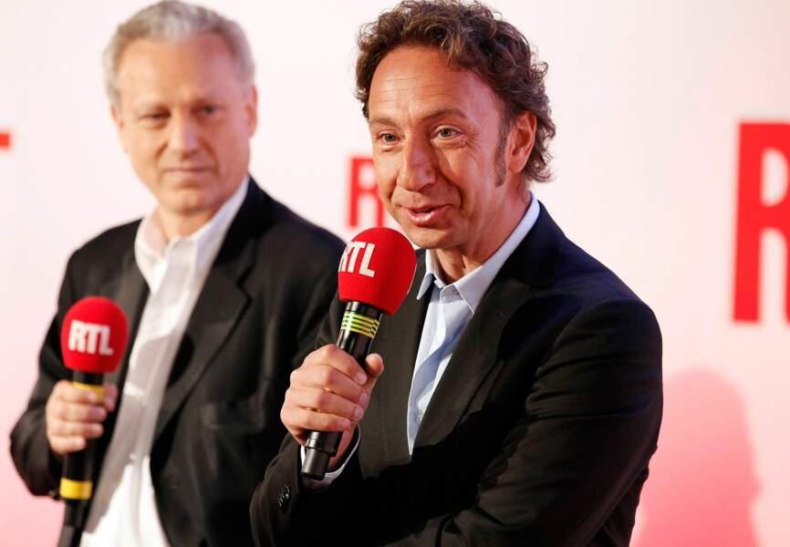 Stéphane Bern gagne 48 000 auditeurs sur RTL
