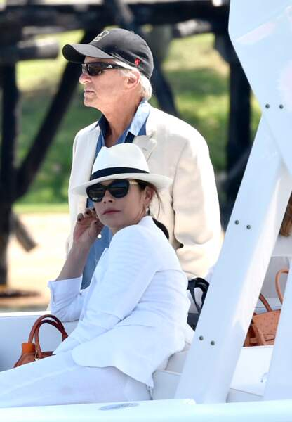 Michael Douglas et sa femme Catherine Zeta-Jones