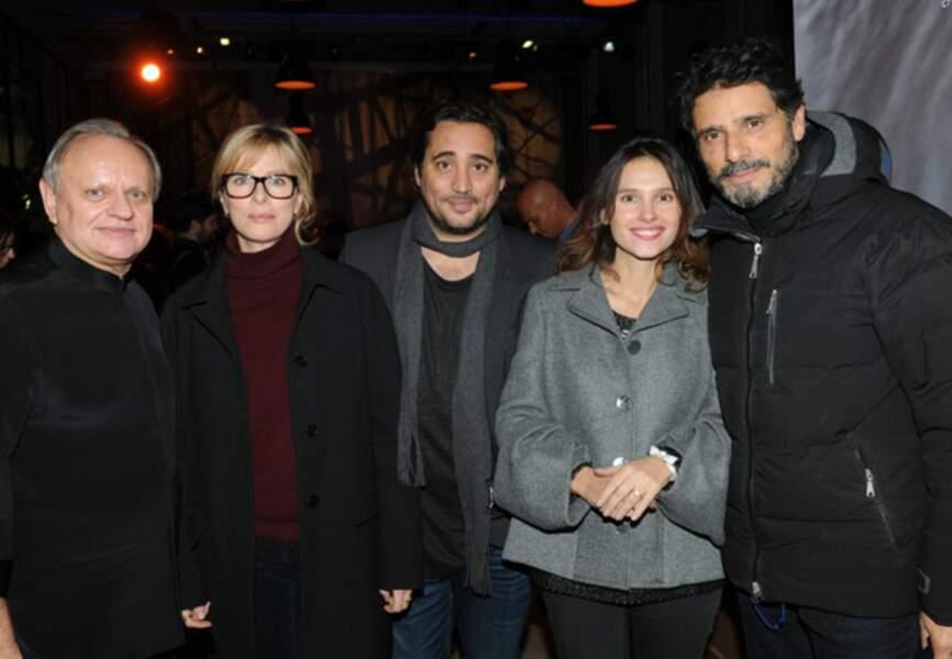 Joël Robuchon, Karine Viard, Herve Louis, Virginie Ledoyen et Pascal Elbé