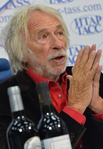 Pierre Richard présente son vin