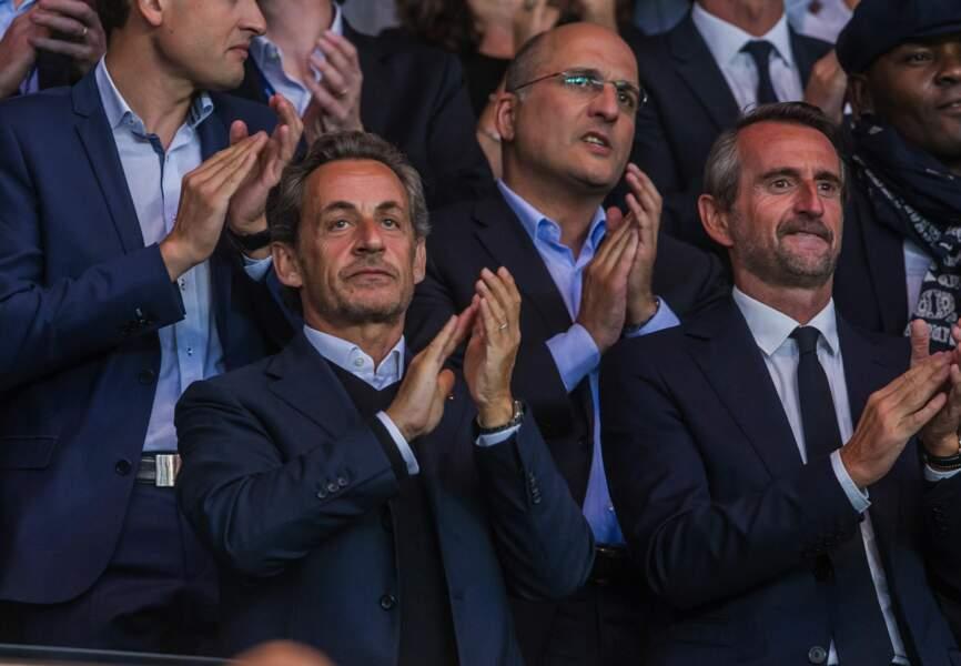 Nicolas Sarkozy et Jean-Claude Blanc