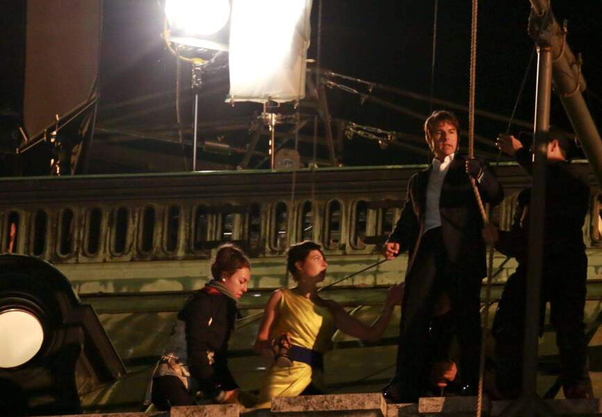 Tournage éprouvant pour Tom Cruise et Rebecca Ferguson