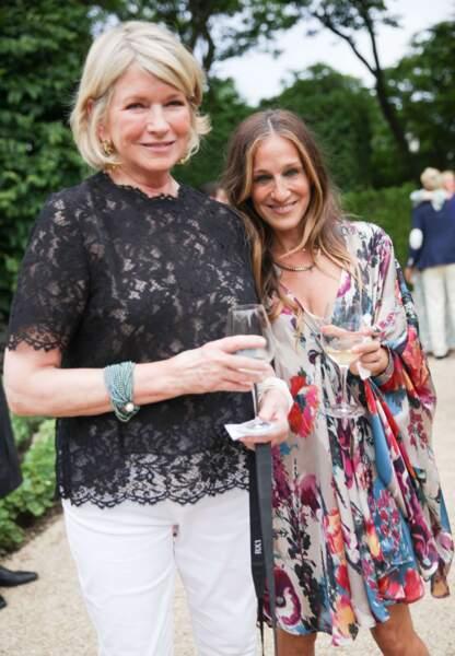 Martha Stewart et Sarah Jessica Parker