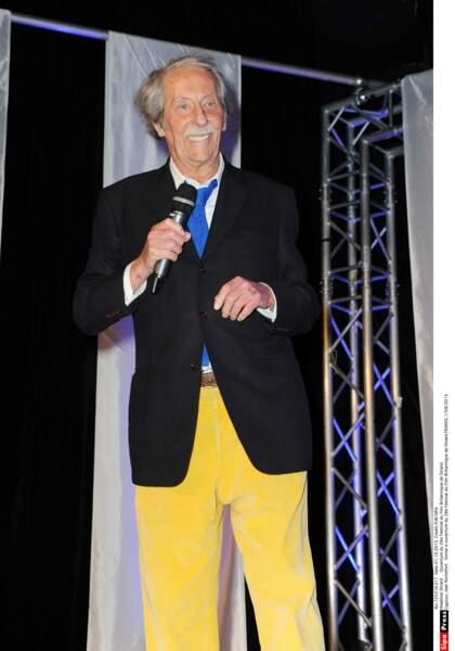 Le président du jury Jean Rochefort