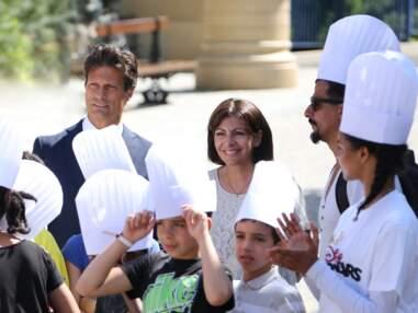 Anne Hidalgo à Disneyland Paris