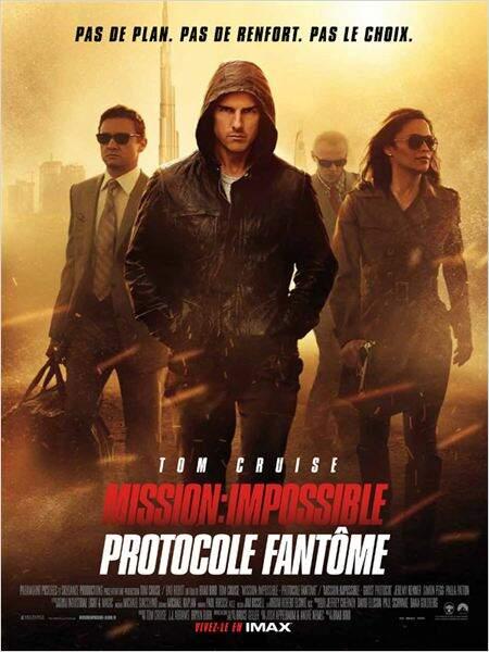 Mission Impossible: protocole fantôme en 2011