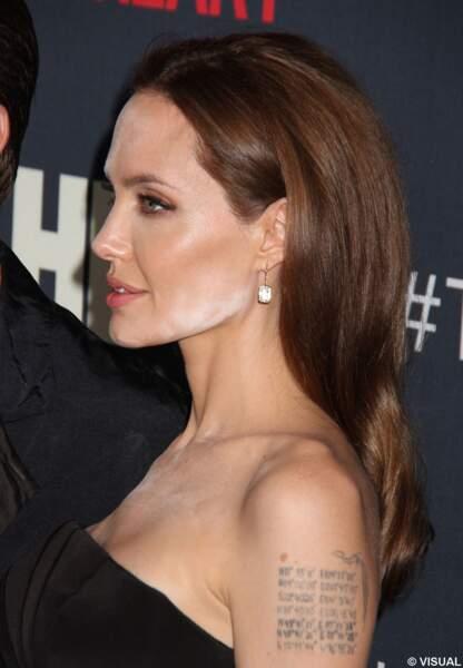 Angelina Jolie, sous son mauvais profil