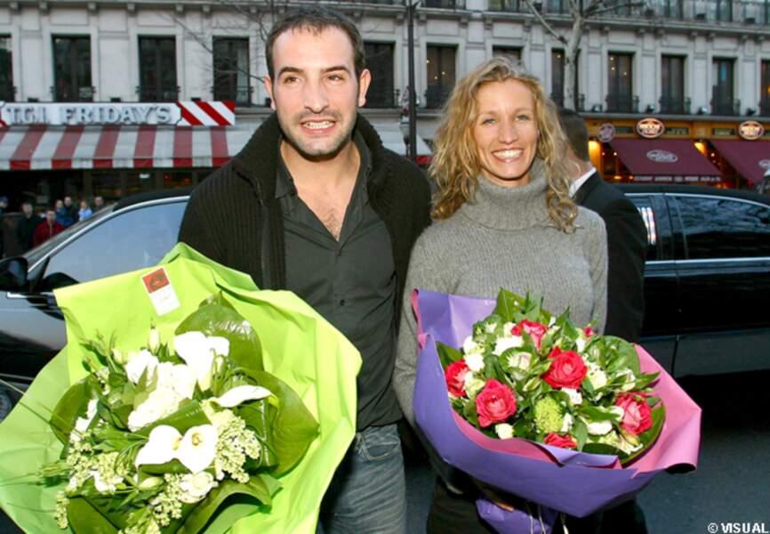 Chouchou et Loulou en dédicace pour la Saint Valentin en 2003