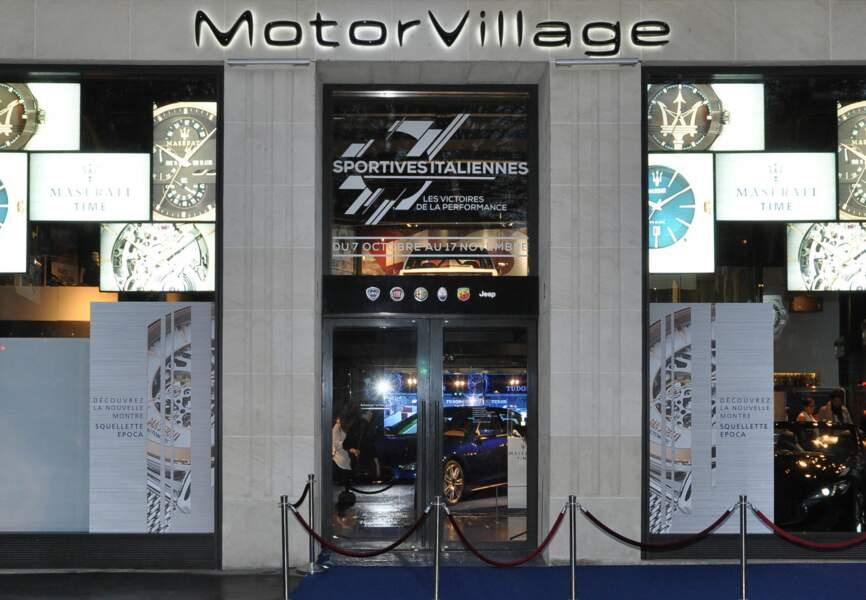 MotorVillage est un lieu au concept original et unique