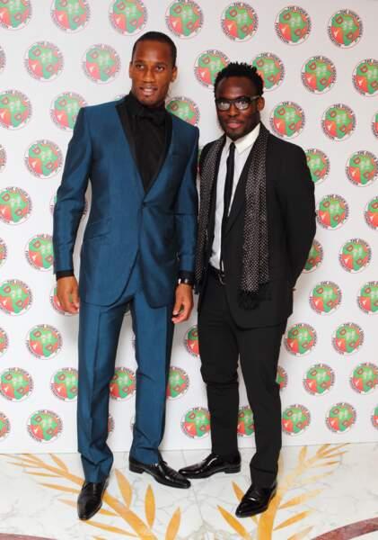 Didier Drogba et Michael Essien, duo de choc