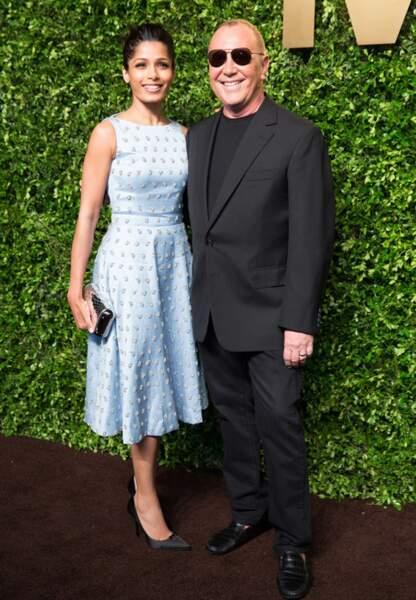 Freida Pinto et Michael Kors