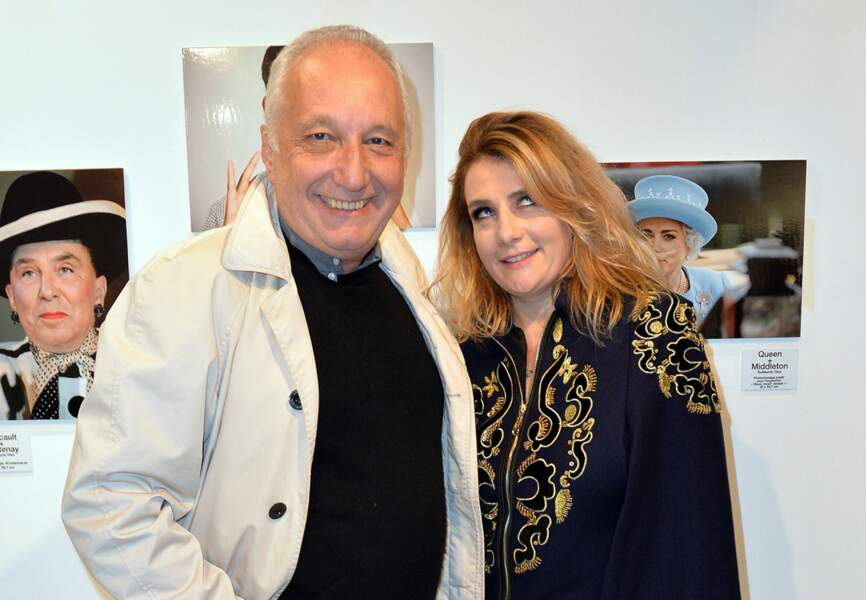 François Berléand et Marie-Amélie Seigner