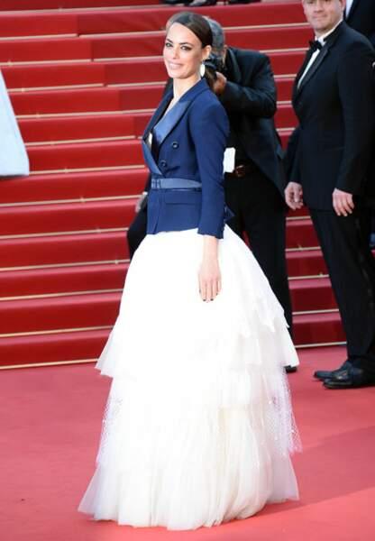 Bérénice Bejo en Alexis Mabille Couture (coiffure Dessange)
