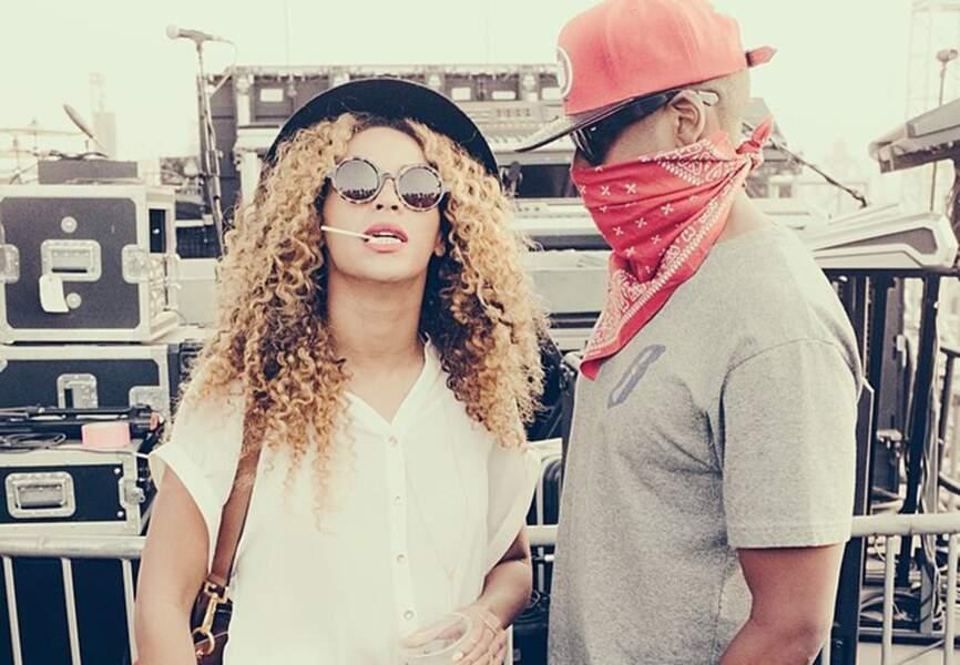 Le chapeau de Beyoncé