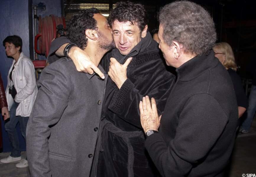 Cyril Hanouna, Patrick Bruel et Michel Drucker