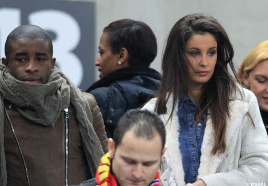 Le footballeur Rio Mavuba et Miss France 2009 Malika Menard
