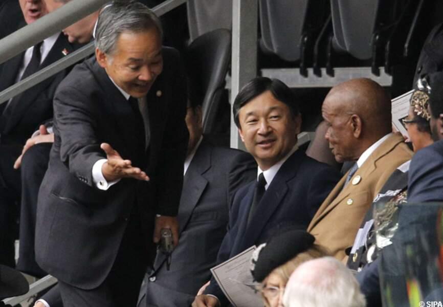 Le prince japonais Naruhito
